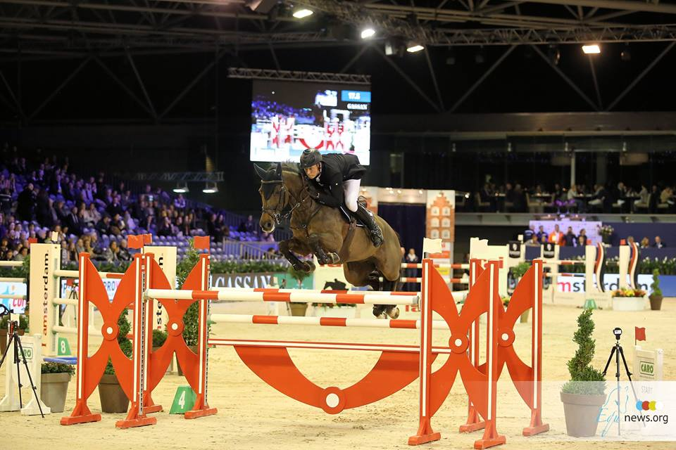 Remco Been tops the Big Tour jump-off at Jumping Zwolle