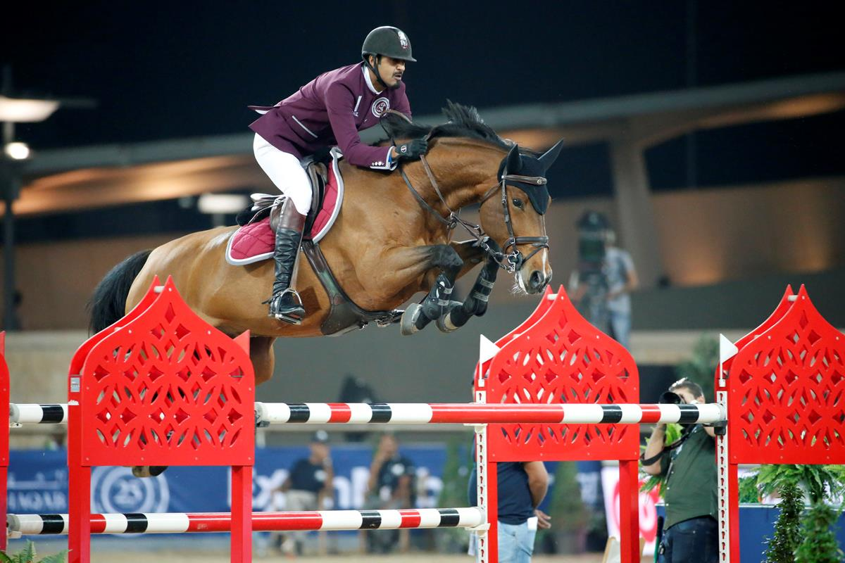 Sheikh Ali Al Thani on dreaming big and sporting pressure ahead of LGCT Doha