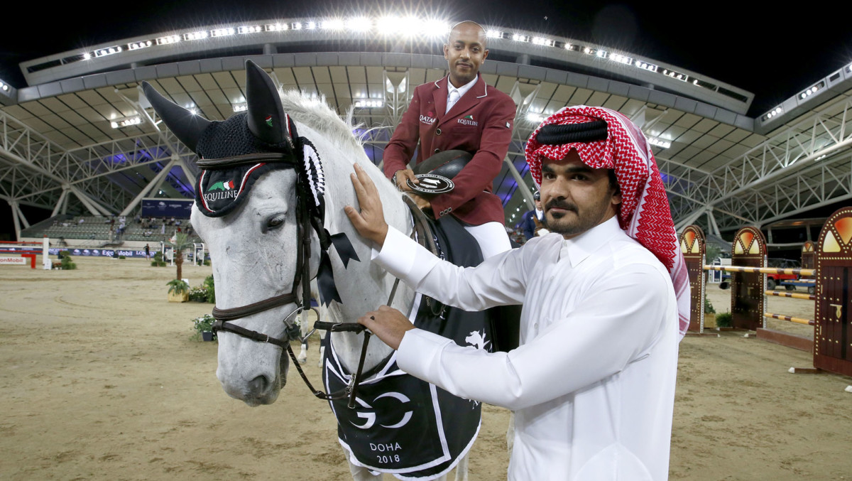 Bassem Soars to Second Speed Class Win at Home in Doha