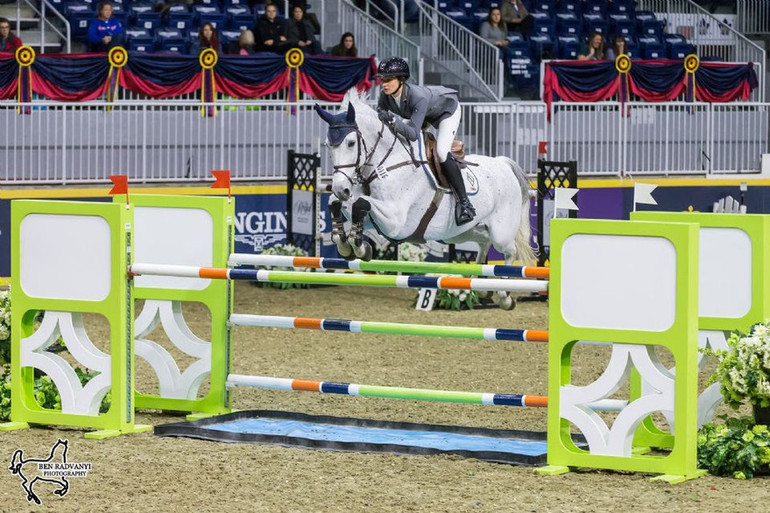 USA's Catherine Tyree opens Royal Horse Show International division with win