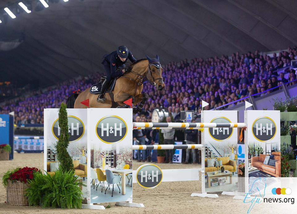 Jumping Mechelen: Lorenzo de Luca rider of the competition