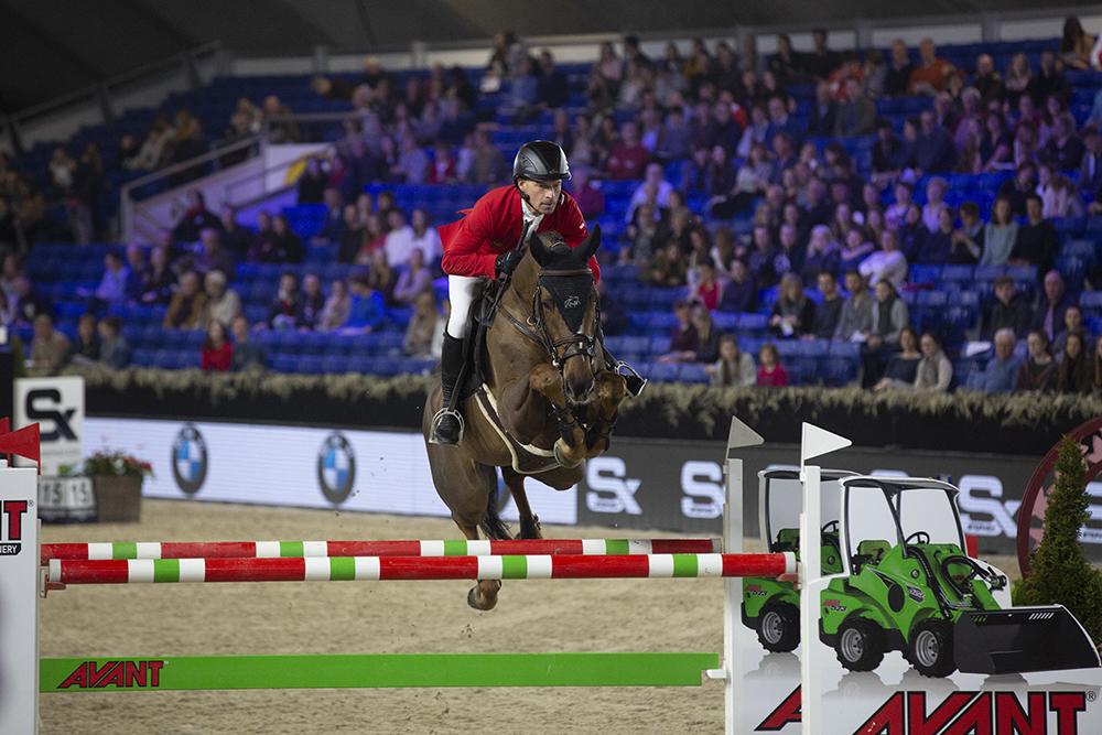 Pius Schwizer on top in Mechelen