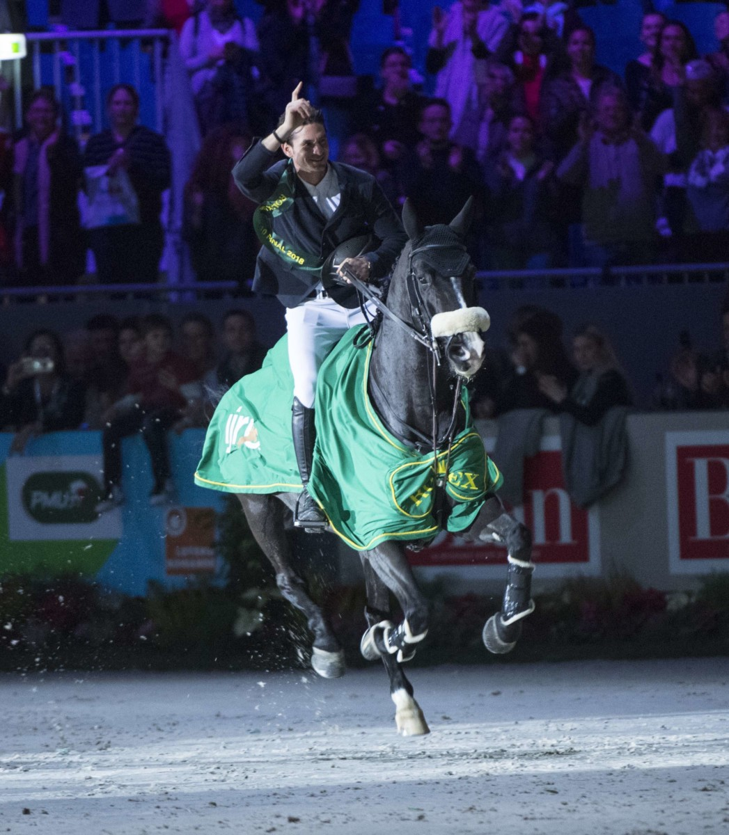 Steve Guerdat has made his choice for the World Cup finals in Gotenborg