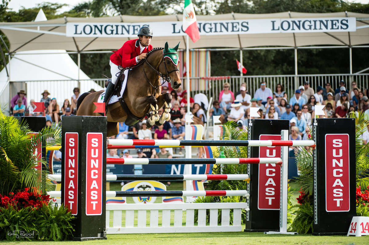 Mexico is Golden in Winning $290,000 CSIO5* Longines FEI Jumping Nations Cup