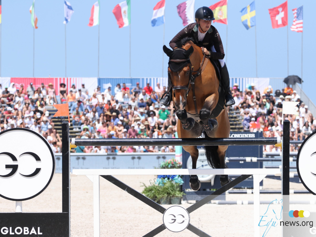 Kristen Vanderveen rules the show in Tryon