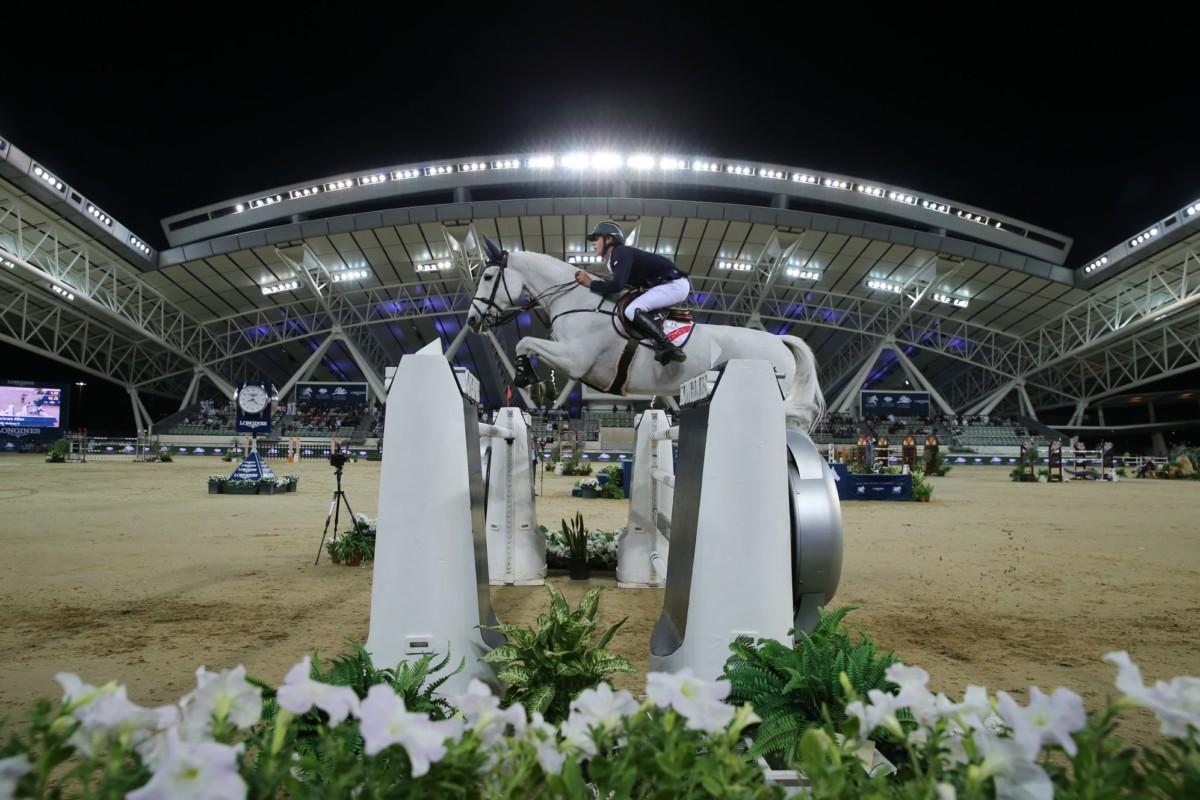 Bertram Allen on top in Doha's 1.55m Ranking Class