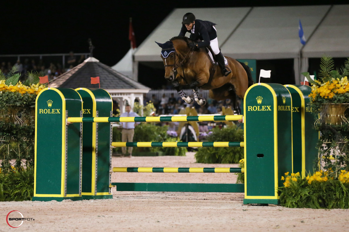 "McLain Ward and HH Azur win final CSI5* WEF Grand Prix. ""HH Azur is finally back at the highest level to win..."""