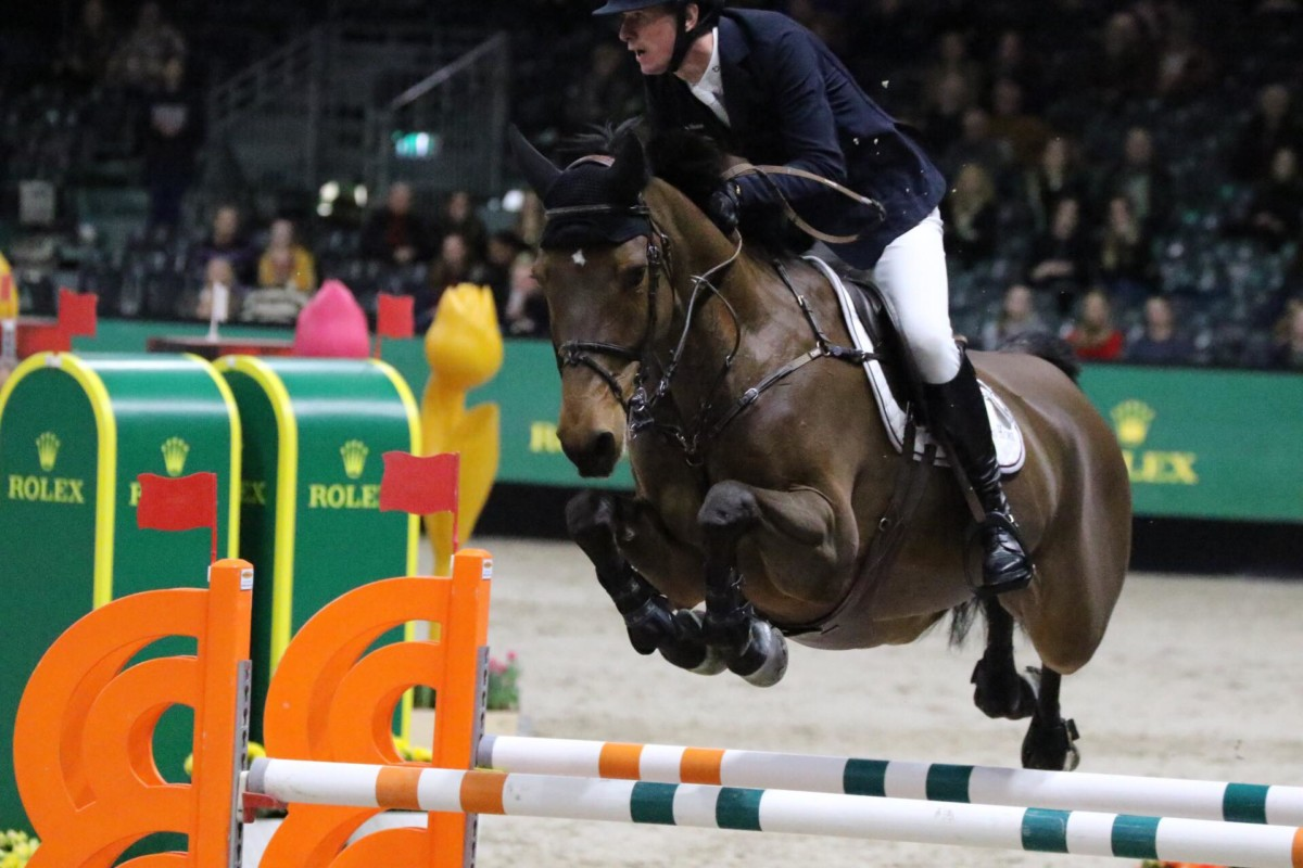 Jos Verlooy's Cor-Leon vd Vlierbeek sold to Lilly Freeman-Attwood