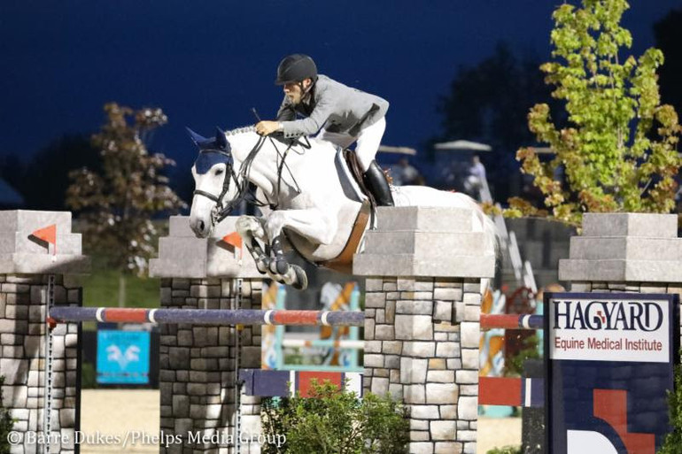 Karl Cook and Caillou 24 can't be caught in Hagyard Lexington Classic CSI3*