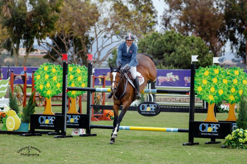 Rich Fellers & Steelbi Sizzle in the FEI CSI2* Power & Speed at Showpark Ranch & Coast Classic