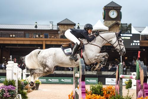 Catherine Tyree and Bec Lorenzo Capture the $25,000 Tryon Resort Grand Prix at Tryon International Equestrian Center