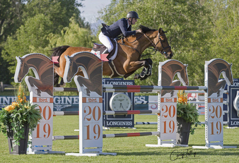 Coyle and Cita win for fun in CSIO5* tbird Cup