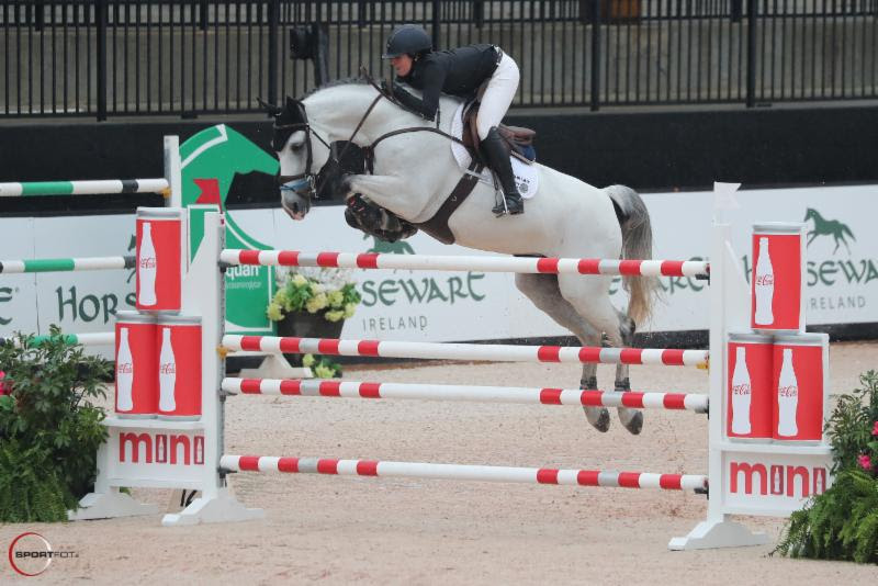 Kelli Cruciotti and Hadja van Orshof Add a Stride and Win CSI4* Grand Prix  at Tryon