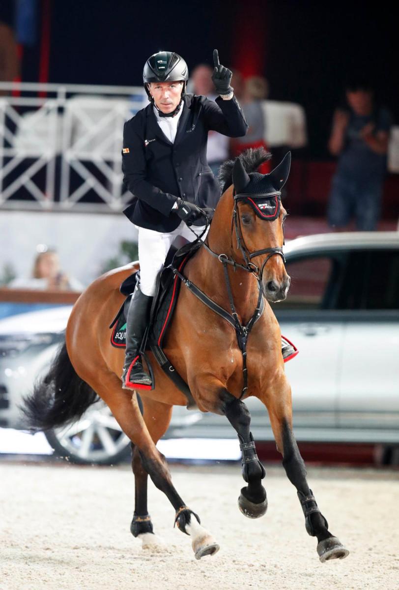 Hans-Dieter Dreher wins ranking class in Riesenbeck
