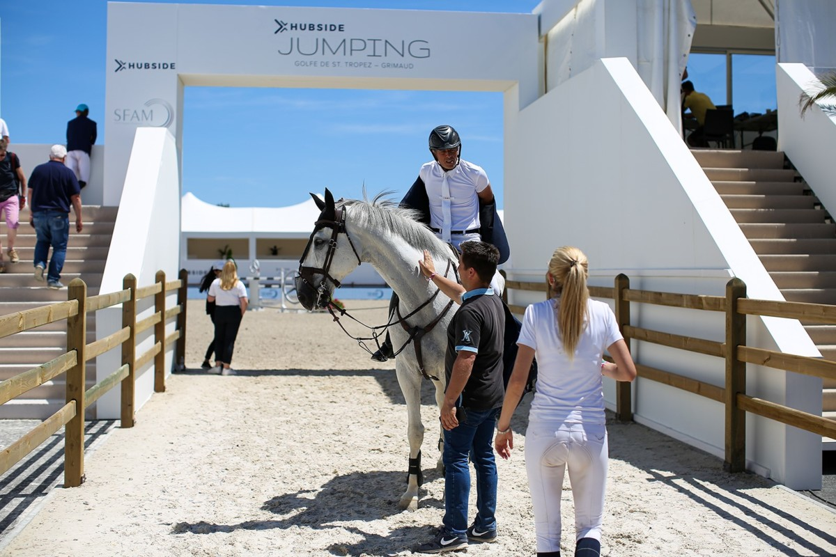 Philippe Rozier claims CSI2* Grand Prix of St Tropez