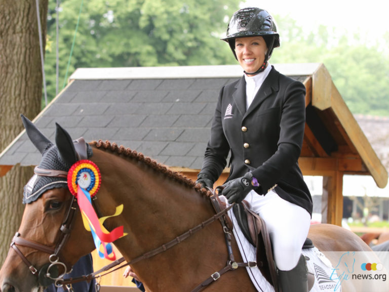 Sea Coast Crystal de Leau jumps to first place with Gudrun Patteet in CSIO5* of Sopot