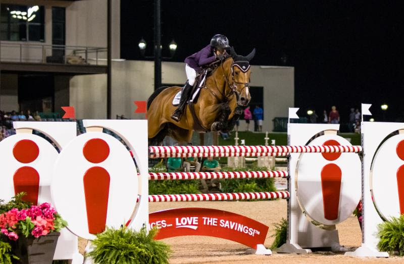 Lacey Gilbertson and Baloppi Produce a $132,000 Ingles Grand Prix CSI 3* Win