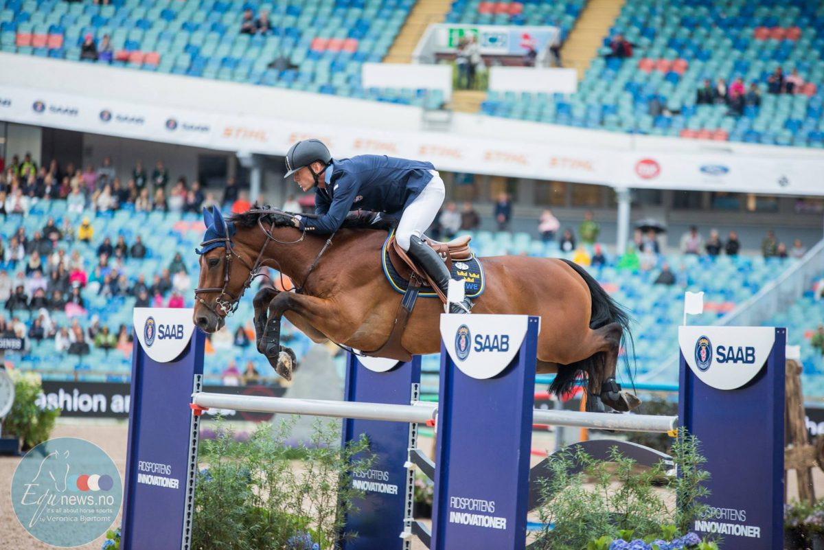Another victory for Peder Fredricson in last class of CSI5* Stockholm
