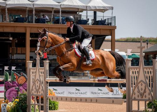 Todd Minikus Tops the $36,000 1.45m Sunday Classic CSI 3* with Amex Z