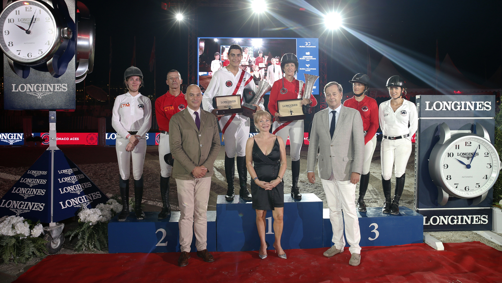 Future stars shine bright in Longines Pro-Am Cup