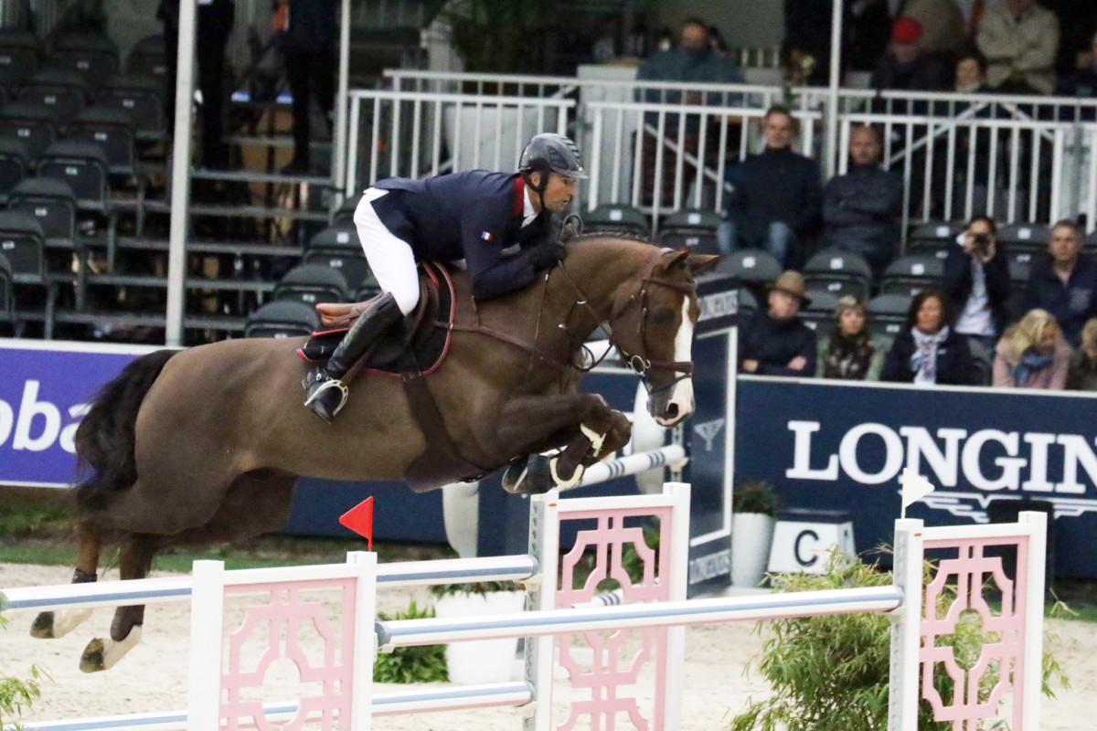 Delaveau beats young Belgian talents Verlooy and Goffinet in CSI3* of Knokke