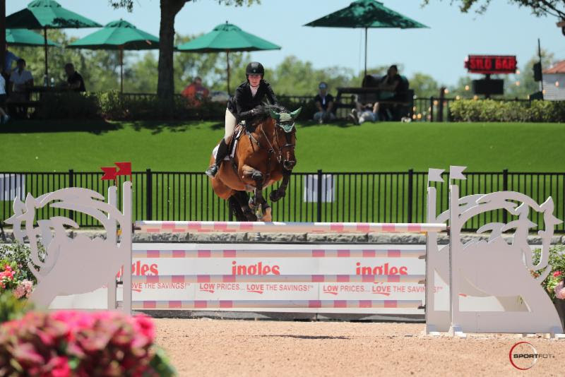 Caelinn Leahy and Dymendy Dash to Victory in $5,000 Horseware Ireland Welcome Stake