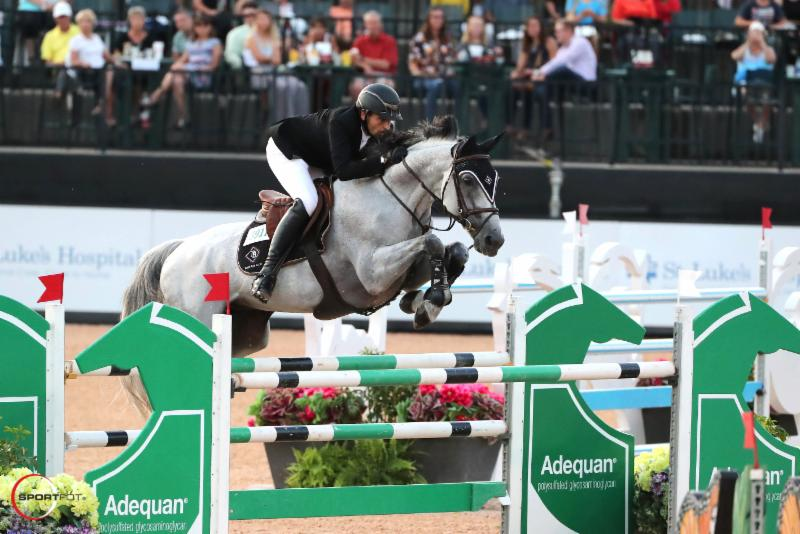 Adam Prudent and Romeo de Villaret Dominate in the $134,000 Adequan® CSI 3* Grand Prix at TIEC
