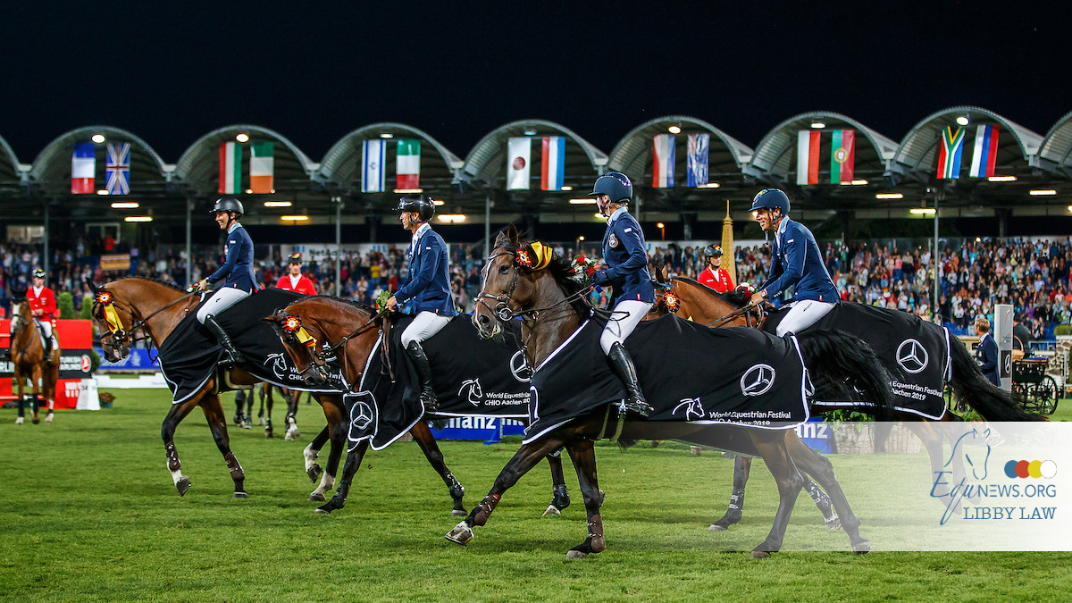 Sweden wins an exciting Nations Cup in Aachen