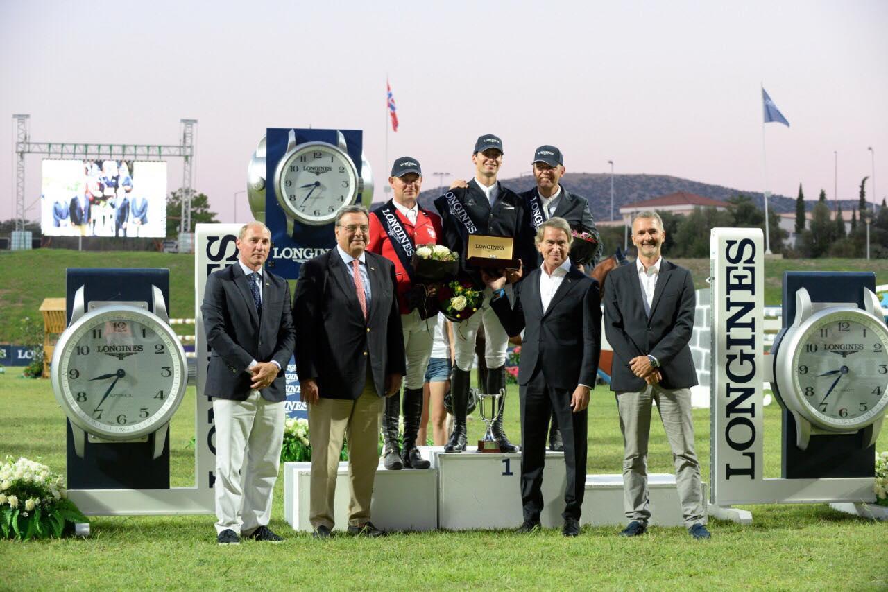 :Rodrigo Almeida Giestreira triumphs in Longines Grand Prix Athens