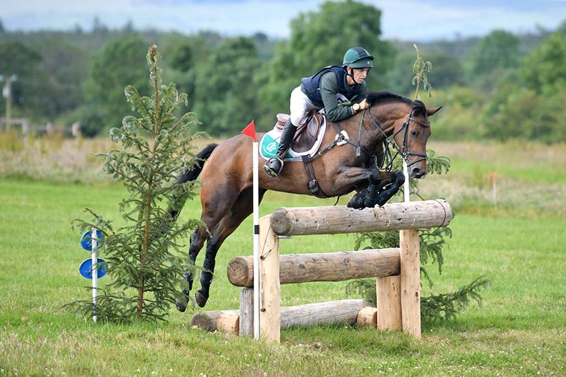 Cathal Daniels and LEB Lias Jewel (ISH) take victory in CCI4*-S at Kilguilkey International Horse Trials