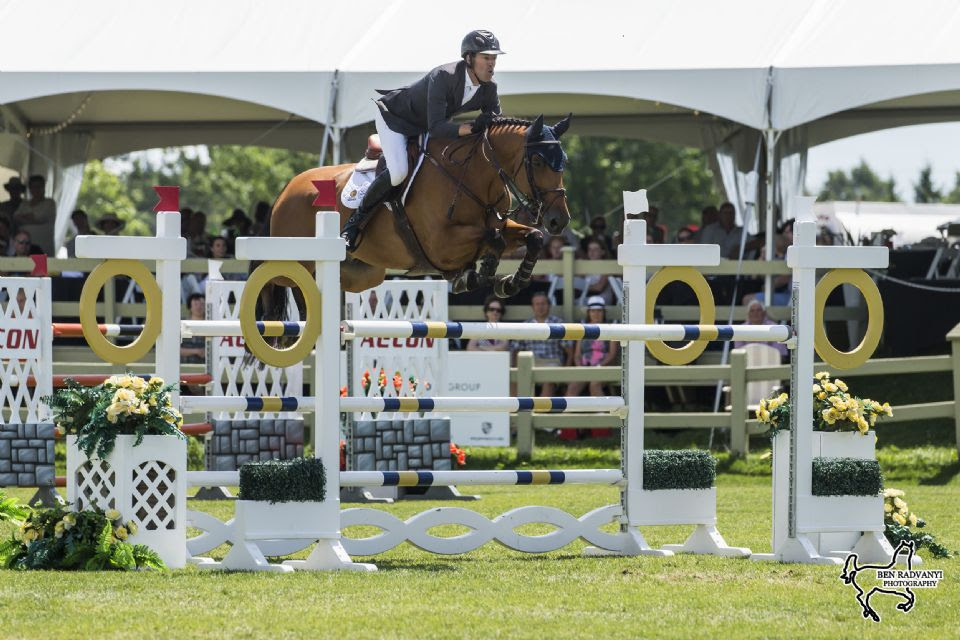 Jonathon Millar Wins $134,000 CSI3* Brookstreet Grand Prix at Ottawa International II