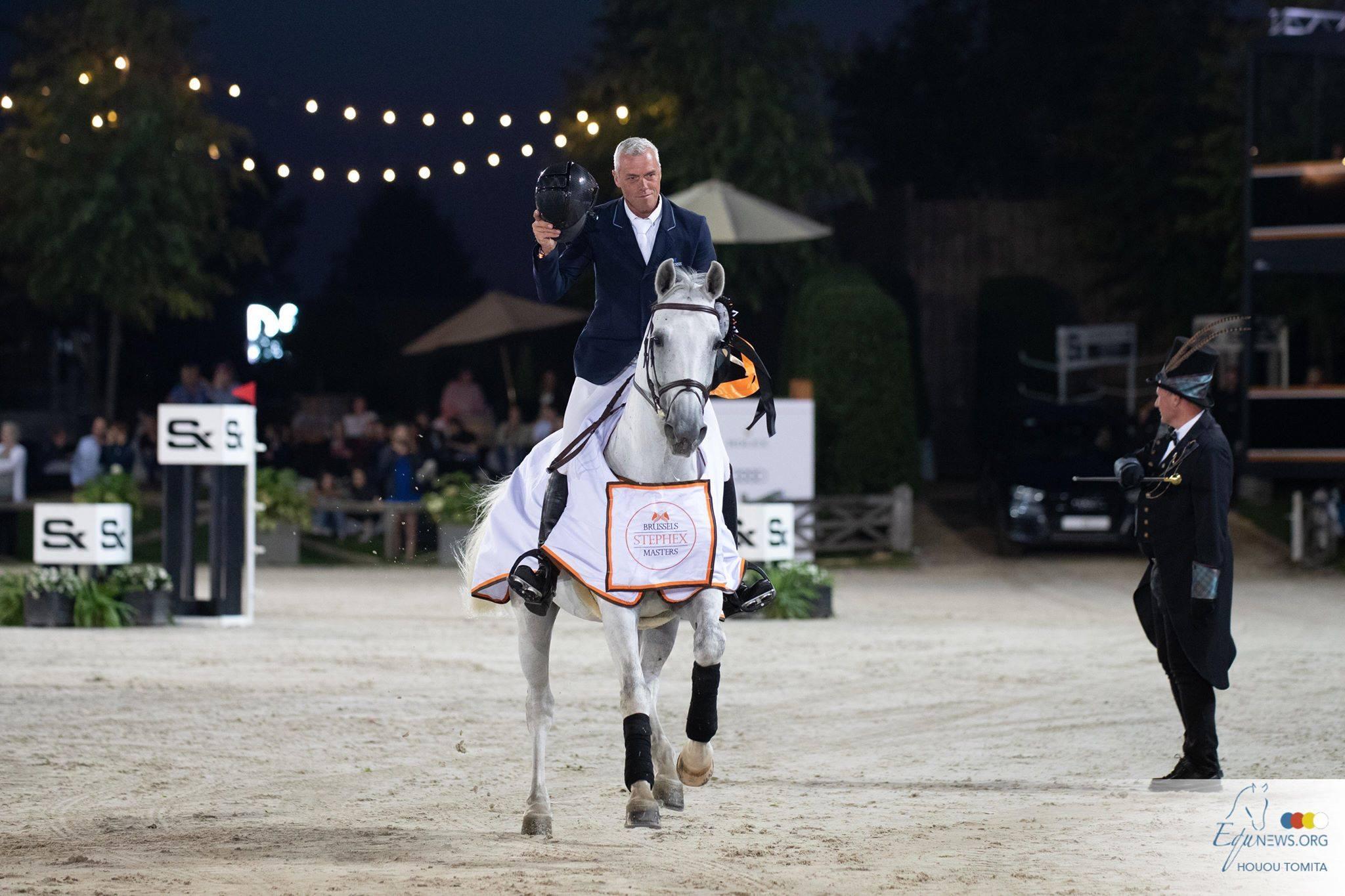 Dominique Hendrickx gagne la classe principale de la journée au Brussels Stephex Masters.