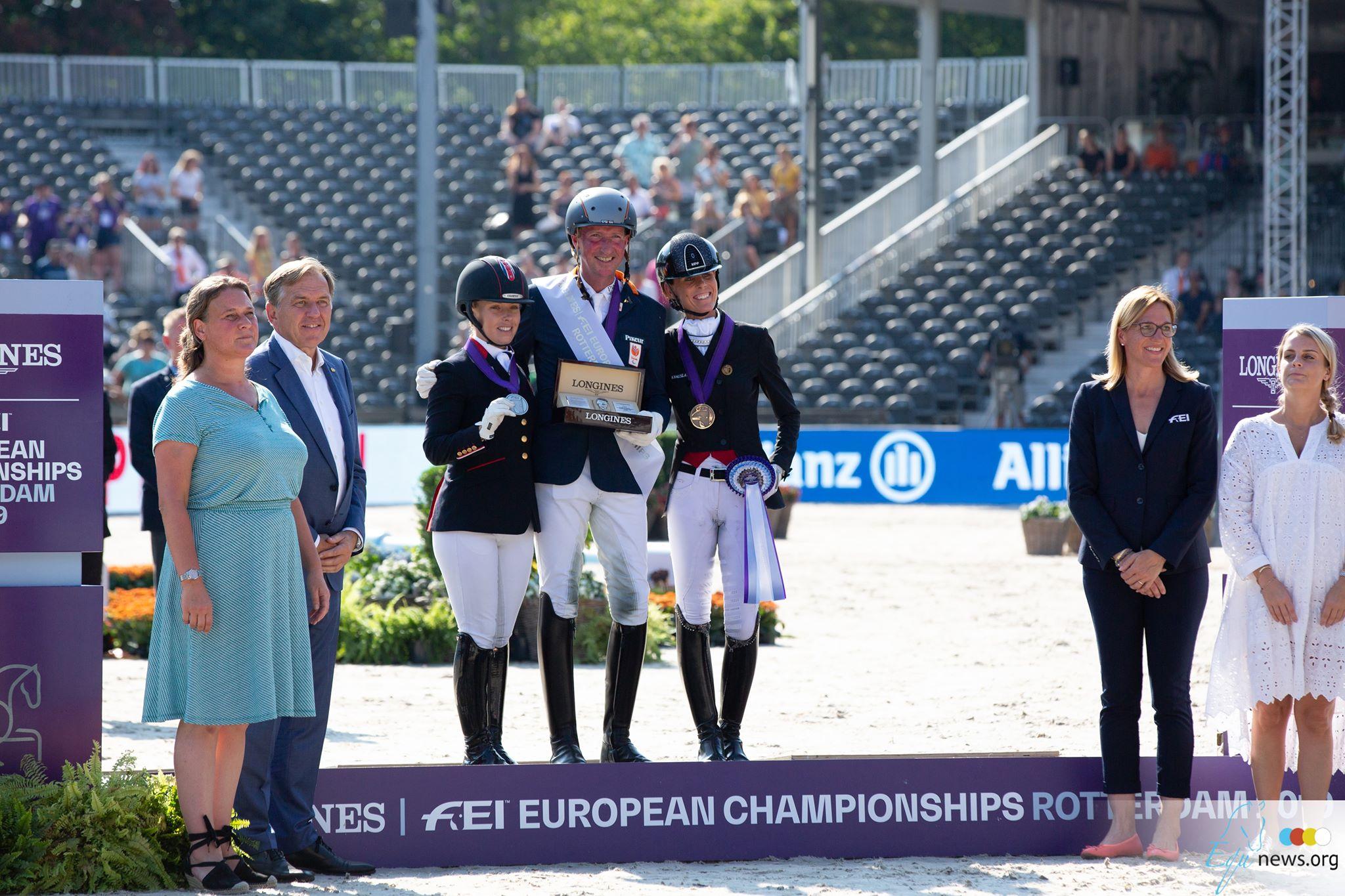 Bronze pour Michele George et Manon Claeys au Championnat européen à Rotterdam