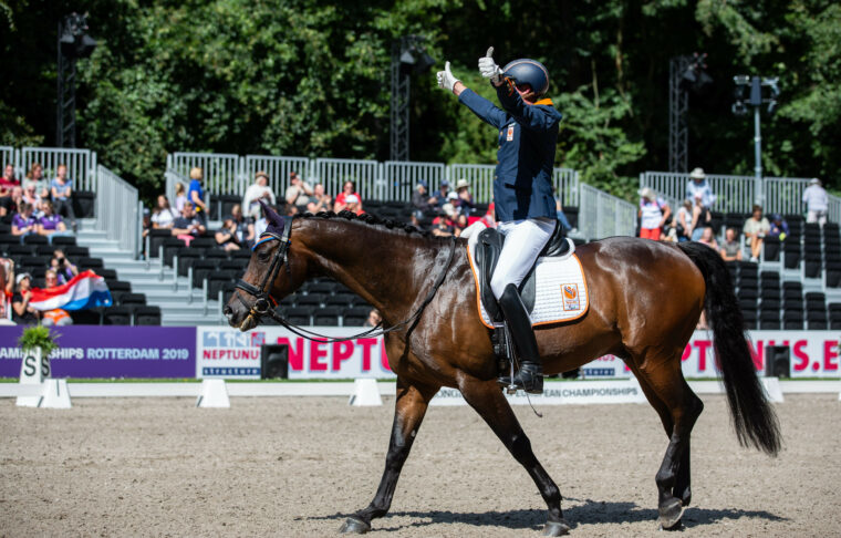 Double Dutch delights on para dressage day two