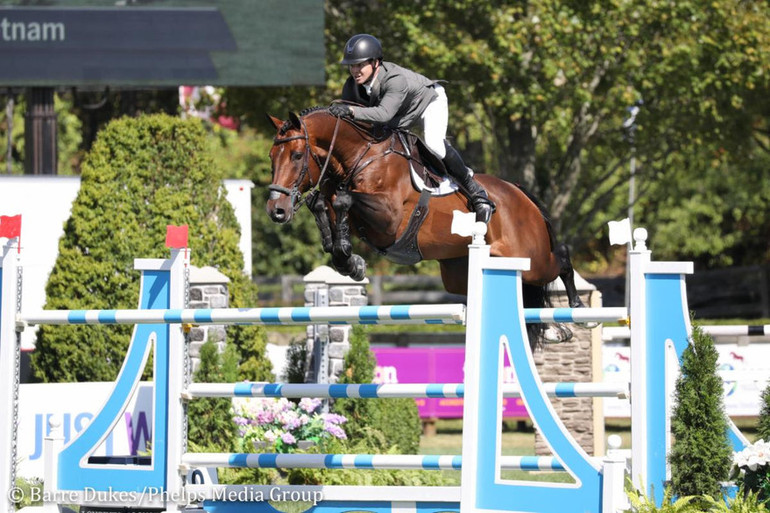 Shane Sweetnam and Chaqui Z gallop to victory in American Gold Cup qualifier