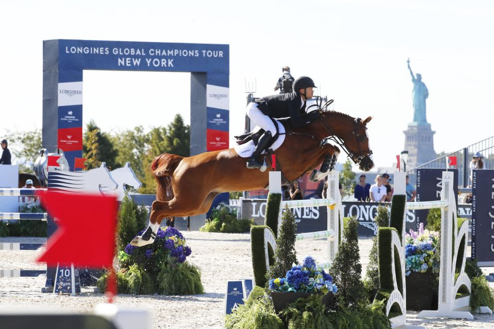 "Kent Farrington and Creedance Fly the Flag At Close of ""Amazing"" LGCT New York"