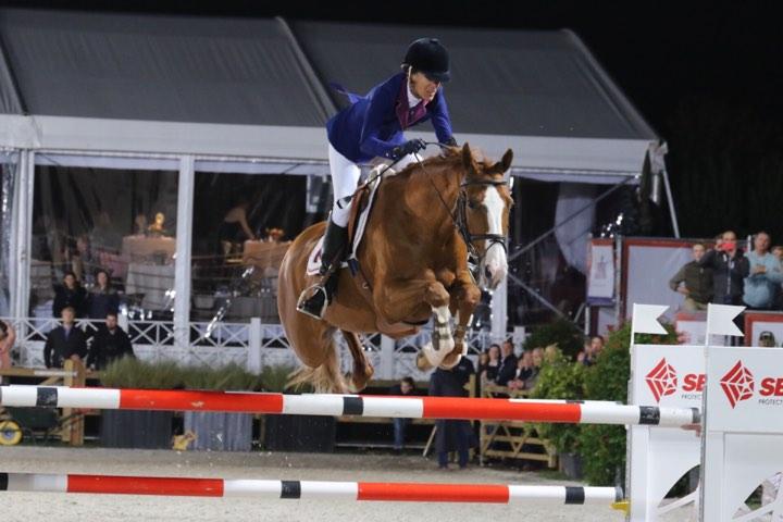 Luciana Diniz takes spectacular win in main class Waregem