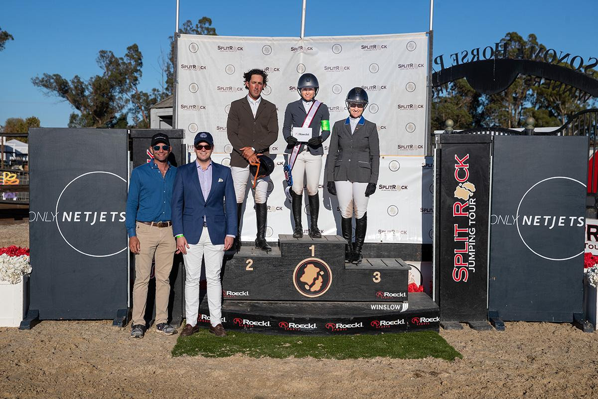 Kaitlin Campbell Wins $9,000 Netjets 1.40m FEI Speed Cup at Split Rock Jumping Tour's Sonoma International CSI2*