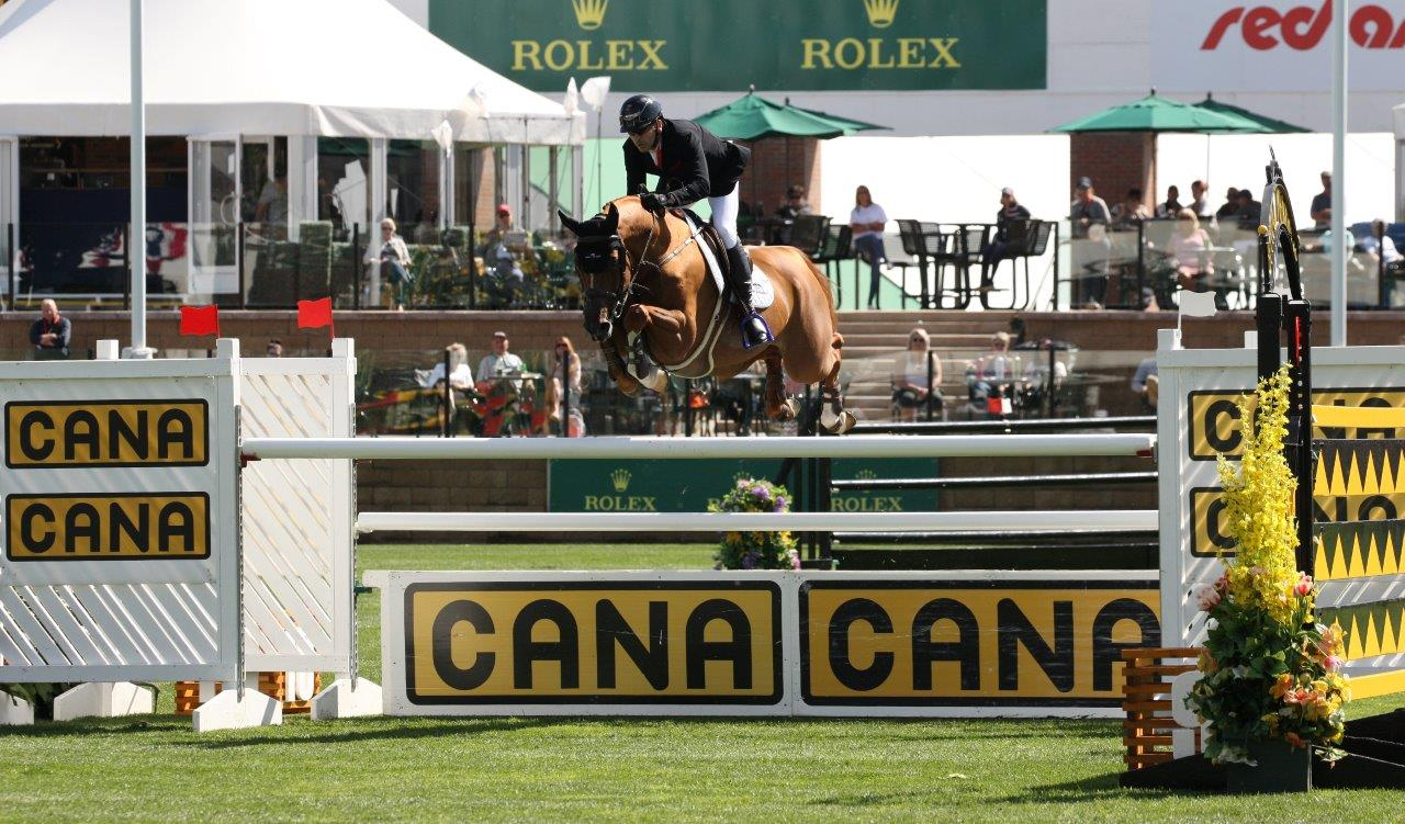 Victory for Eric Lamaze (CAN) in the CANA Cup