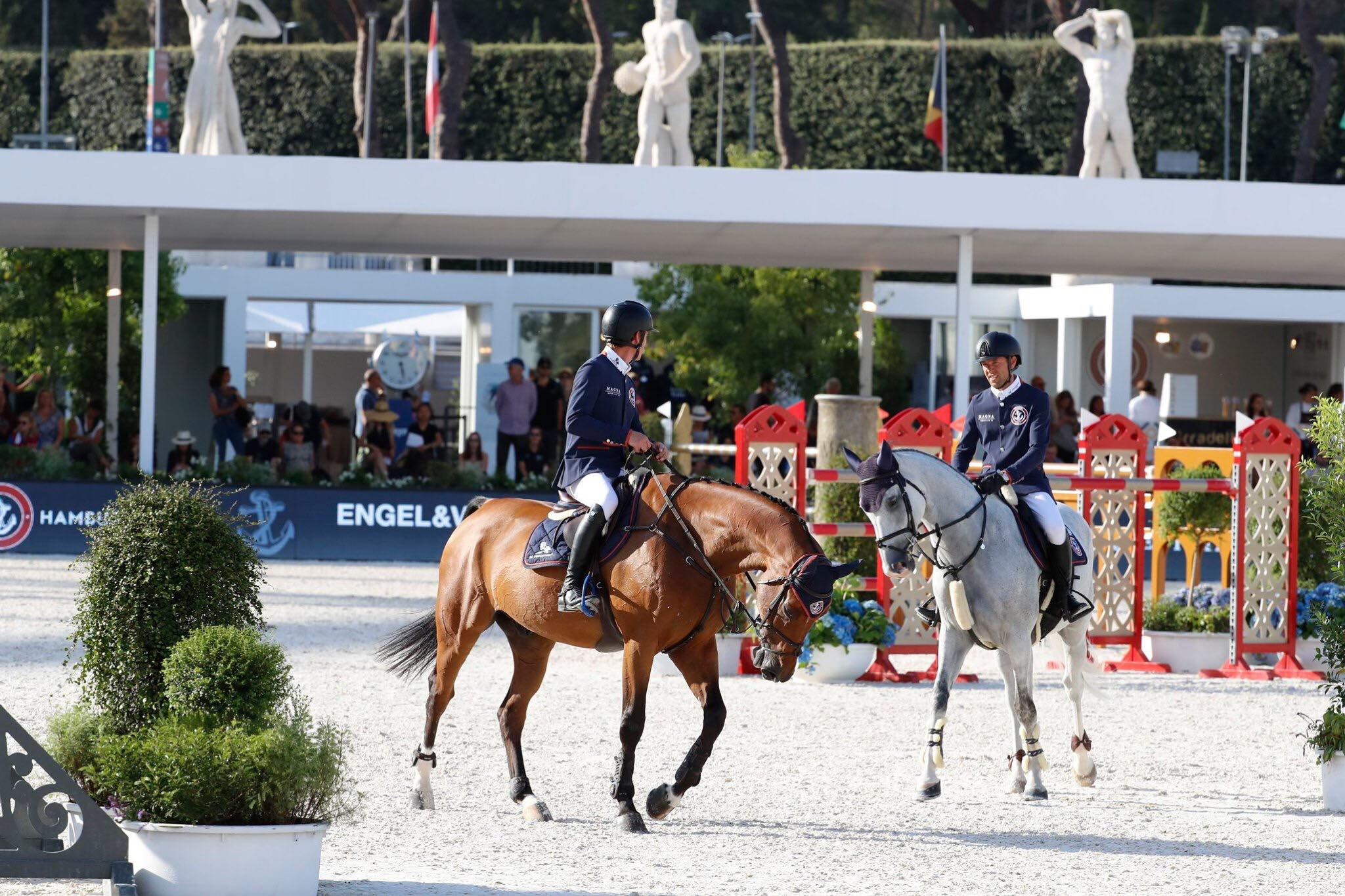 Giants Power to Turbo-Charged Pole Position at GCL Rome