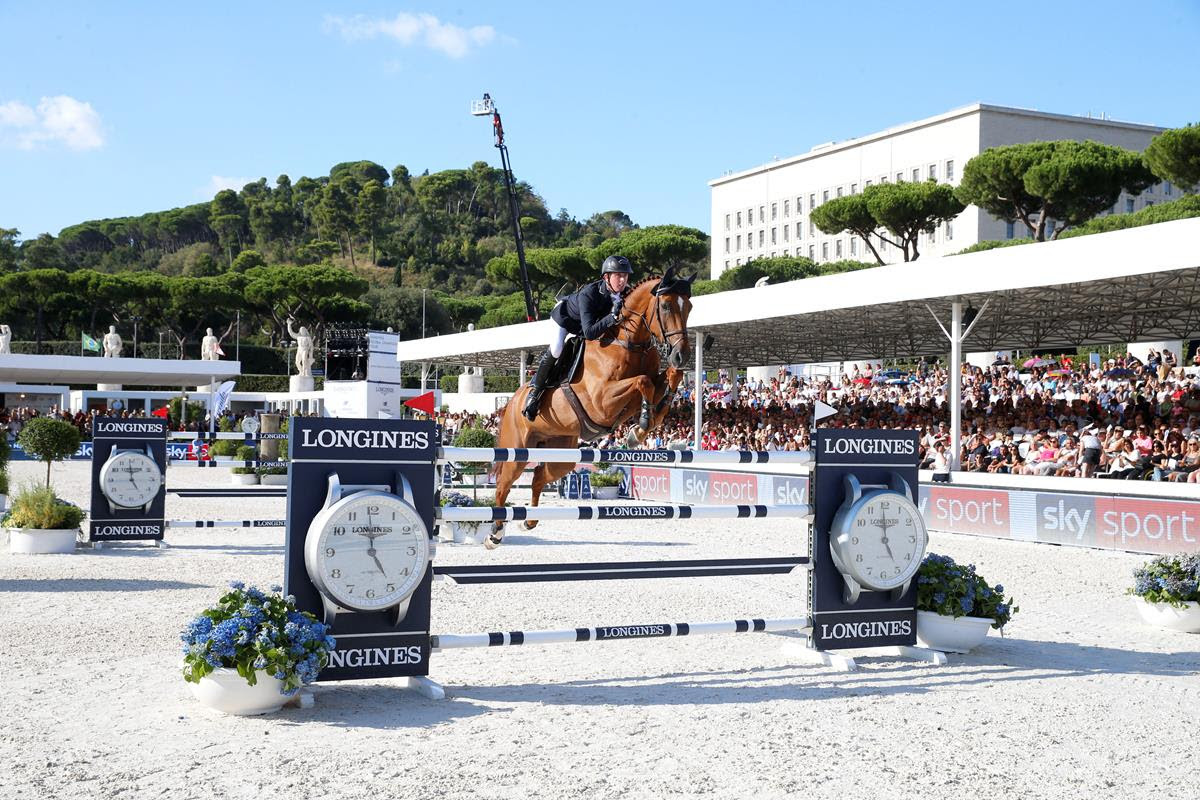 "Ben Maher: ""Rome is my lucky town..."""