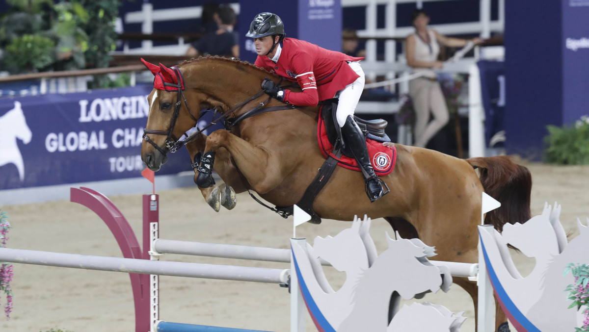 Ben Maher wins nerve-racking Grand Prix Final in Global Champions Tour New York