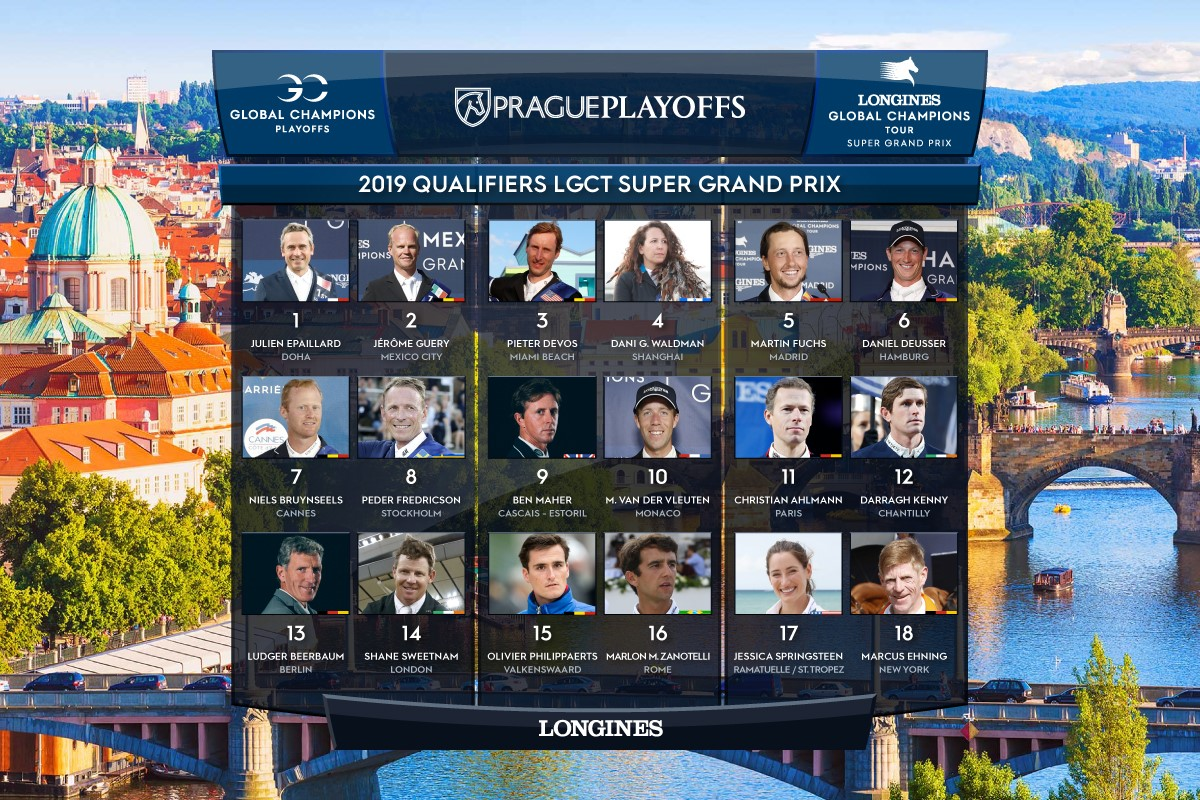 "Ehning ""thrilled"" at eleventh hour qualification for LGCT Super Grand Prix in Prague - full line up revealed"