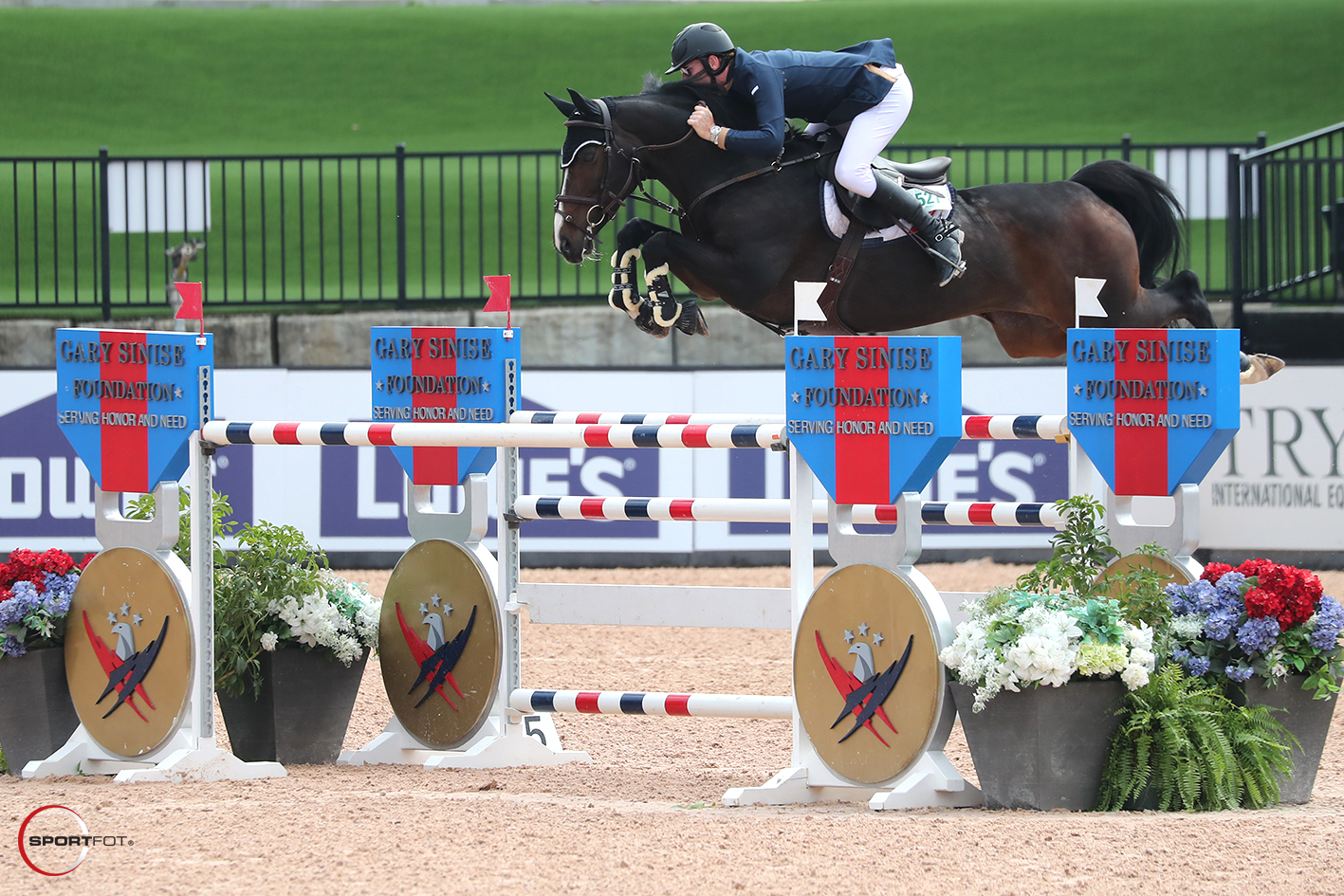 Daniel Coyle Wins His First FEI Class at Tryon