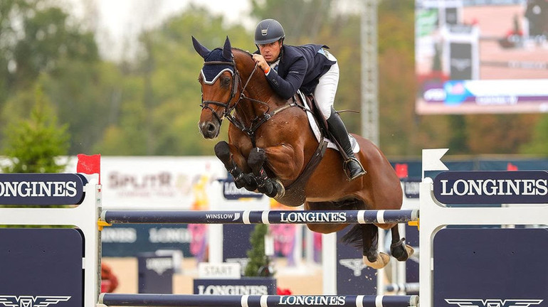 Alex Granato wins Longines FEI Jumping World Cup Columbus