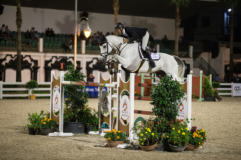 A double for Stefan Eder at the Morocco Royal Tour