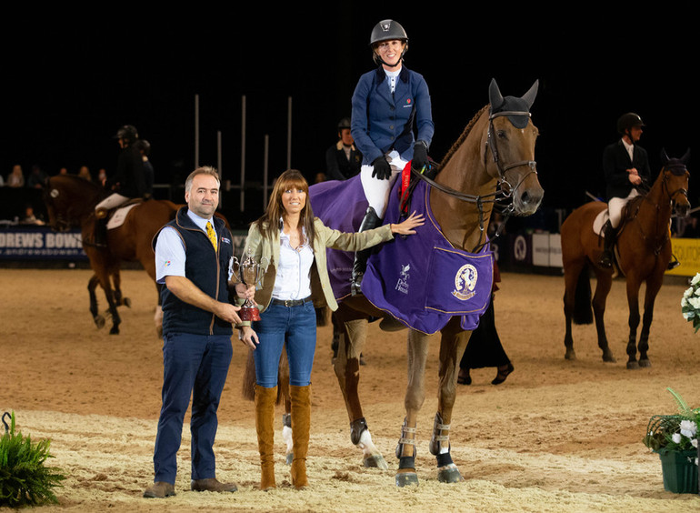 Fast track to victory for Harriet Nuttall at Horse of the Year Show