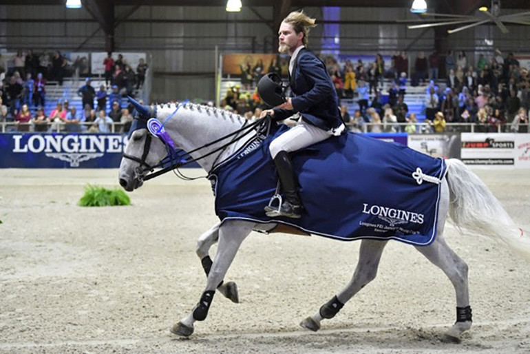 Cook skyrockets to top of NAL leaderboard with Longines victory in Sacramento