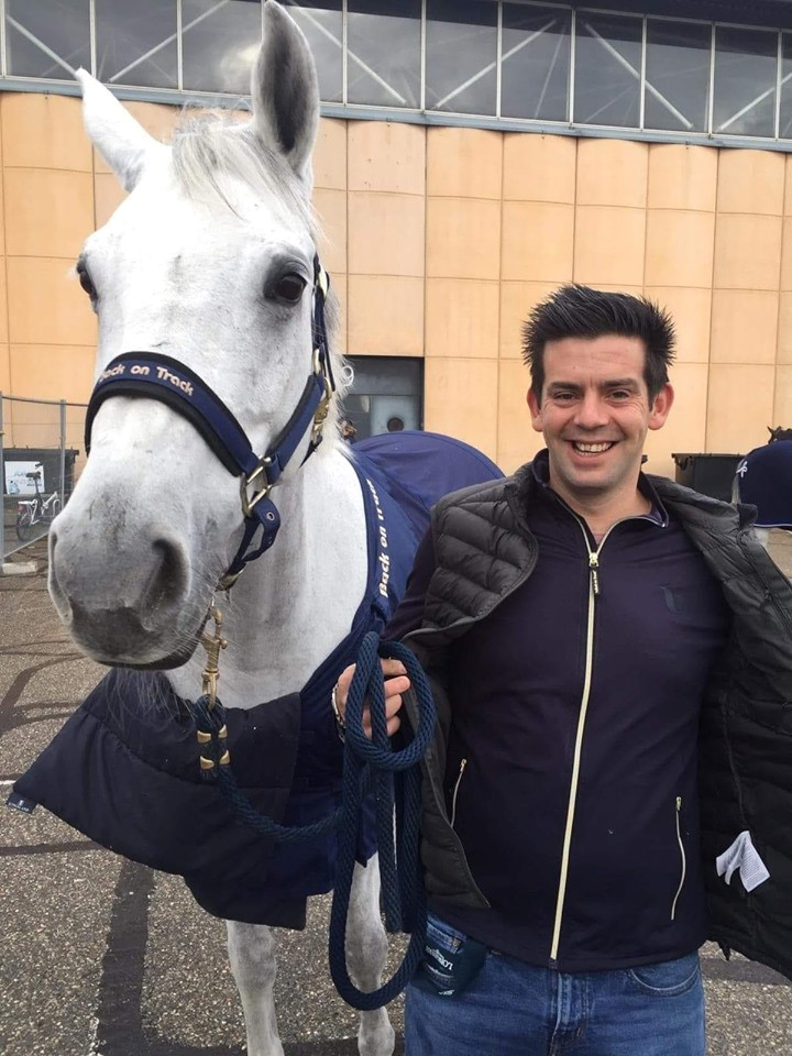 """Daniel Deusser's groom Sean: """"These are my absolute Back on Track favourites!'"""