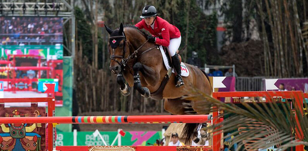 Canadian showjumpers support Nicole Walker after provisional suspension